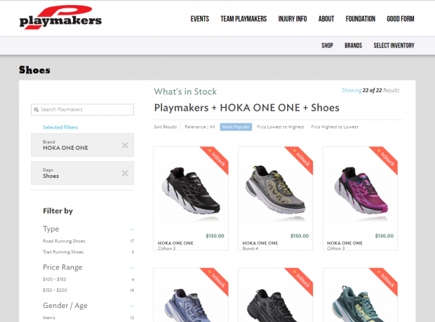 HOKA ONE ONE joins Locally, launches